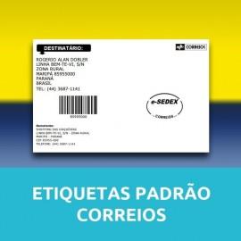 Etiqueta Padrão Correios